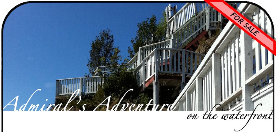 Admiral's Adventure House - On the Waterfront